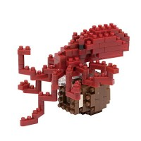 Nanoblock Common Octopus Building Kit