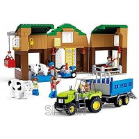 Sluban Cow Farm - 512 Pieces in Original English Box 100% Compatible Educational Toy Building Bricks Construction Series M38-B0561