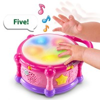 LeapFrog Learn & Groove Color Play Drum Bilingual Pink Amazon Exclusive