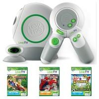 LeapFrog LeapTV Educational Gaming System Bundle Plus 3 Games