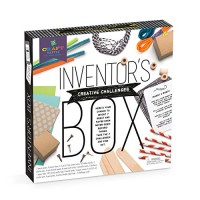 Craft-tastic Inventor's Box Arts and Crafts STEAM Kit Includes 7 Creative STEM Challenges