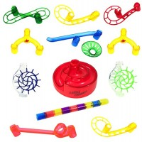 Marble Genius Booster Set Add-On - 20 Marbulous Run Toy Pieces