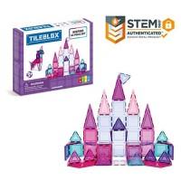 Tileblox Inspire 60 Piece Set Magnetic Building Blocks Educational Tiles Kit Construction STEM Toy