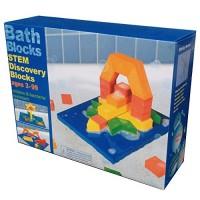 BathBlocks Stem Discovery Blocks Bathtub Toy Pillows 47