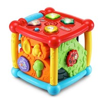 VTech Busy Learners Activity Cube Frustration Free Packaging