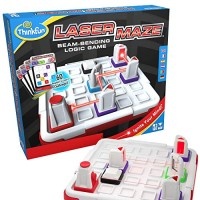 Think Fun Laser Maze Class 1 Brain Game and STEM Toy for Boys Girls Age 8 Up Award Winning Mind Challenging Kids 44001014