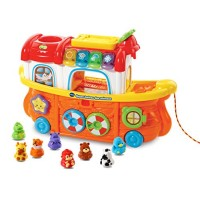VTech Super Bateau des animaux French Toy