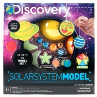 Discovery 3D Solar System by Horizon Group USA Great Stem Science Kit 1 4 Glow In The Dark Paints 21 Ceiling & Wall Stickers More