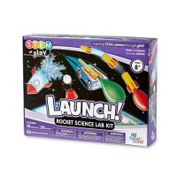 hand2mind Launch Rocket STEM Kits For Kids Ages 8-12 18 Science Experiments and Fact-Filled Guide Make Your Own Solar System Races Homeschool