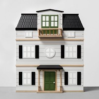 Wooden Dollhouse with Furniture - Hearth & Hand with Magnolia
