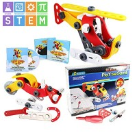 Baby La STEM Educational Toys 2 in 1 Construction Engineering for Toddlers BONUS Downloadable eBooks and Songs Fun imagination Play