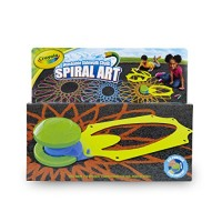 Crayola Washable Sidewalk Chalk Spiral Art Kit 12Piece Outdoor Toy Gift for Kids