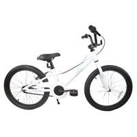 Loco Kids Aluminum Bicycle Boys 20 White - The Cremello