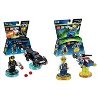 Lego Dimensions Rescue 911 Fun Pack Bundle of 2 - City 71266 & Bad Cop 71213