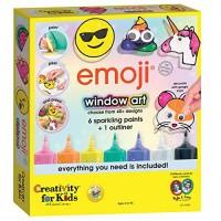 Creativity for Kids Emoji Window Art - Make Your Own Clings