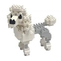 Nanoblock Poodle Building Kit White