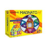 MAGNATON Magnetic Blocks Building 34PCS Set Colorful 3D Tiles for Children Best Educational Learning Preschool Creativity Kit STEM Toys 3 Year Old Kids Girls & Boys