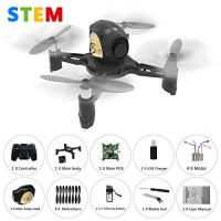 REMOKING R605 RC STEM DIY Drone Toys Mini Racing Quadcopter Headless Mode 24GHz 360flip 4 Channels Altitude Hold Indoor and Outdoor Game Educational Building Toy Science Kit for Kids Adults