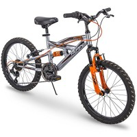Huffy 20 Kids Dual Suspension Mountain Bike Quick Assembly Available
