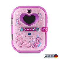 VTech Pink Secret Safe Girls Selfie Diary for Educational Toy with Camera Photos Music Game & More Gifts Age 5 6 7+ Year Olds