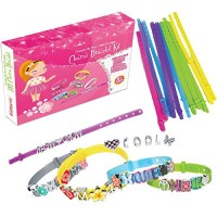 Arts and Crafts DIY Bracelets Kit for Teens Make Your Own Rope Bracelet with Charm Jewelry for Birthday 94 Pieces 12 Colors Paracord Charm Friendship Bracelet Making Kit Camp and Art Project Party