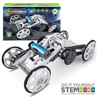 Mochoog STEM Toys for Boys Age 8-10 4WD Electric Climbing Vehicle - Science Experiment Kit Kids Mechanical Engineering Building Gifts & Girls 8 9 10-12 Years and Up