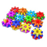 The Learning Journey Techno Kids - Stack & Spin Gears Super Set STEM Toddler Toys Gifts for Boys Girls Ages 2+ Years Mind Building Toy