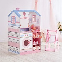Olivia's Little World - All in One 16-18 inch Baby Doll Wooden Nursery Center