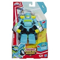 Playskool Heroes Transformers Rescue Bots Academy Hoist Converting Toy Robot 6 Action Figure Toys for Kids Ages 3 & Up