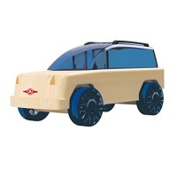 Automoblox Collectible Wood Toy Cars and TrucksMini x11 Rivet SUV Compatible with other Mini Micro Series Vehicles