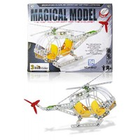 3 Bees & Me STEM Helicopter Building Toy Kit - Model for Boys Girls Age 8 to 12 Years Unique