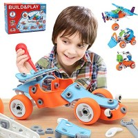 132 PCS STEM Learning Toys Education Engineering and DIY Construction Kit Best Building Set for 6 7 8 9 10+ Year Olds Boys & Girls That Love to Build Creative Gift Play Kids