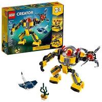 LEGO Creator 3in1 Underwater Robot 31090 Building Kit 207 Pieces