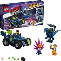 LEGO THE MOVIE 2 Rexs Rex-treme Offroader 70826 Dinosaur Car Toy Set For Boys and Girls Action Building Kit 236 Pieces
