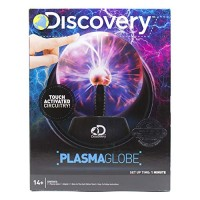 Discovery Touch & Sound Activated Plasma Globe by Horizon Group USA Stem Science Interactive Electronic Sensitive Desk Lamp