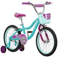 Schwinn Elm Girls Bike for Toddlers and Kids 18-Inch Wheels Teal