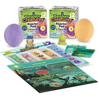 Learning Resources Beaker Creatures Reactor Pods Series 2 Homeschool STEM Pack Assorted Colors Ages 5+