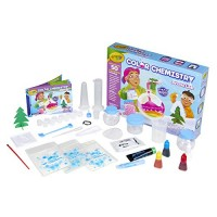 Crayola Arctic Color Chemistry Set for Kids Steam Stem Activities Educational Toy Ages 7 8 9 10 Multicolor