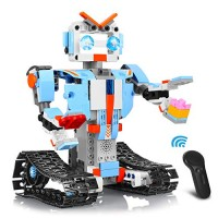 Aokesi Remote Control Robot Building Blocks Educational Kit Engineering STEM Toys Intelligent Gift for Boys and Girls 351 Pieces