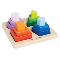 Kaplan Early Learning Company Nest and Stack Shapes