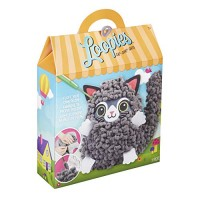 Alex Loopies Yarn and Plush Cat Kids DIY Craft Kit