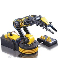 Elenco Teach Tech Robotic Arm Wire Controlled Kit STEM Building Toys for Kids 12+