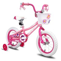 JOYSTAR 14 inch Kids Bike for 3 4 5 Years Girls Child Bicycle with