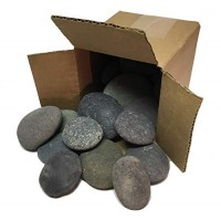 River Rocks for Painting Kindness Kids Arts & Crafts Toys Approx 20 Black Rock from to 35 inches