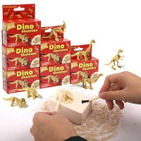 xx Excavation Dig Kit for Kids Dinosaur Bone Skeleton Toy 6 Different Dino Figures