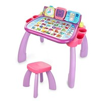 VTech Touch & Learn Activity Desk Frustration Free Packaging Purple