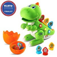 VTech Mix and Match-a-Saurus Frustration Free Packaging Green