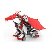 UBTECH JIMU Robot Mythical Series Firebot Kit App-Enabled Building & Coding STEM Kit 606 Pcs Red Model JRA0601