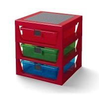 Red LEGO Storage by Room Copenhagen Ninjago Sorting Box