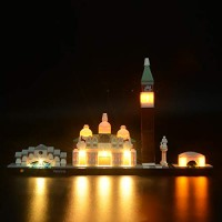 Led Lighting Kit for Architecture Venice Skyline Set-Compatible with Lego 21026 Building Blocks Model- Not Include The Set